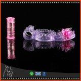 1PC acopla a ejaculação mais intensa persistente de vibração da ereção do Stimulator de Clit do anel da torneira do anel do pénis do anel do prazer dos brinquedos do sexo