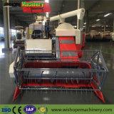 Емкость подачи 4,5 кг/S гусеничный зерноуборочный комбайн для уборки риса для риса пшеница