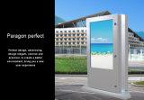 """"""" Doppelmonitor-Standplatz-Doppeltes des bildschirm-55 versah LCD-Bildschirm, HD Noten-Monitor LCD-Bildschirmanzeige mit Seiten"""