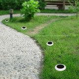 지상 스파이크를 가진 변화 정원 장식적인 가벼운 방수 옥외 태양 잔디밭 점화를 착색하십시오