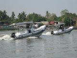 Liya 3.38.3m Boot van de Patrouille van de Rib van de Boot Rhib de Militaire