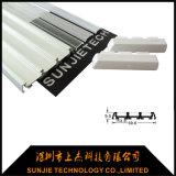 Het LEIDENE Profiel van het Aluminium voor het LEIDENE Licht van de Strook met 3PCS Plastic Dekking voor Plank