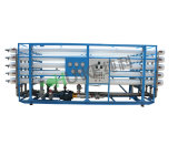 CkRO100t ROシステム塩辛い水処理設備