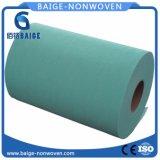 Rullo non tessuto 100% del tessuto della cellulosa