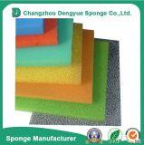 Colchão 10-60reticulada ppi eficiência grosseiro de células abertas a espuma do filtro