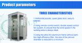4人は側面の空気シャワーかクリーンルームを倍増する