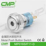 De Schakelaar van de Drukknop van het Roestvrij staal CMP 16mm (mp16s/f11-D)