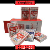 Самое лучшее печатание изготовленный на заказ 555 карточек покера играя (YM-PC09)