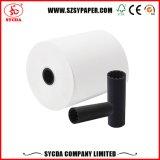 Rodillo del papel termal del papel revestido de la caja registradora