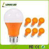 lampadine arancioni equivalenti delle lampadine LED di 40W 5W A19 con i chip arancioni del LED