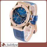 Relógio impermeável automático de quartzo do esporte da forma do Wristband do aço inoxidável