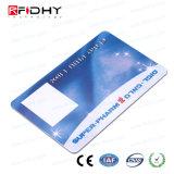 Número convexo Cartão Papel RFID para gerenciamento de adesão
