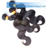 Естественных волн Индийского человеческого волоса в больших запасов