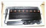 Acht Blockers van het Signaal van Antennes voor Controle 2g+3G+4G+2.4G+CDMA450+Remote