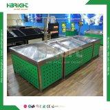 Вычура и модный квалифицированный стеллаж для выставки товаров фрукт и овощ супермаркета