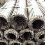 Draht-umsponnener gewölbter flexibles Metalschlauch