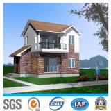 Casa de acero prefabricada del chalet