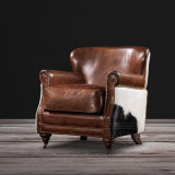 거실을%s 최신 Sofa Design Upholstery Leather Single Sofa Chair Armchair