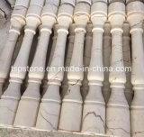 Настраиваемые натурального мрамора и гранита рулевой колонки/Роман рулевой колонки/камня стойки/рулевой колонки для сада украшения