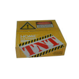 작은 판지 상자 매트 박판을%s 가진 물결 모양 Kraft 종이상자