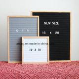 Горячие продажи 10*10 12*18 дюйма серого цвета черный считает письмо Совета в наличии на складе