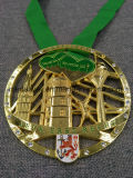 Медаль высокого качества покрынное эмалью заливкой формы