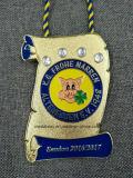 Metallo su ordinazione/funzionare/sport/oro/dorato/maratona/medaglia del premio/militari/ricordo