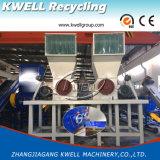 Máquina de recicl de lavagem quente/linha do floco superior do frasco do animal de estimação da classe
