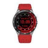 Kw88 Android 5.1 3G WiFi GPS Smart Watch localisateur GPS Tracker 1.39 inch Mtk6580 1,3 GHZ Quad Core 400mAh 2,0 Mega pixel de moniteur de fréquence cardiaque