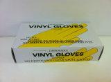 Pulverisierte und Puder-frei Wegwerfprüfungs-Grad-Vinylhandschuhe