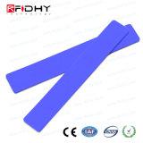 Rewritable防水シリコーン衣類のための産業RFIDの洗濯の札