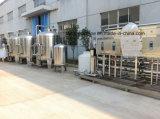 Piccola scala che beve la pianta pura del sistema di trattamento dell'acqua potabile del RO