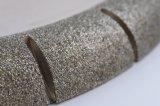 대리석 돌을%s 고품질 1/2R 볼록한 전기도금을 하는 다이아몬드 바퀴