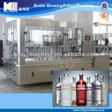 Relleno del vino de la botella de cristal y máquina de Seaing