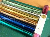 El color Holografica de papel para la decoración de la caja de plástico