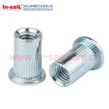 DIN302 ISO1051鋼鉄によってさら穴を開けられるヘッドリベット