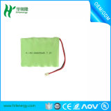 NiMH電池李イオン電池のパック4.8V 800mAh AAA OEM電池のパック