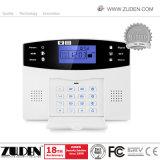 100개의 무선 지역 및 8개의 철사 지역을%s 가진 소리난 LCD 안전 홈 경보