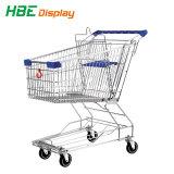 Cer-Standardsupermarkt-Einkaufswagen-Laufkatze mit unterem Tellersegment