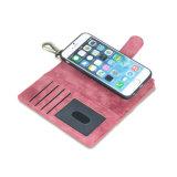 Het Geval van de Portefeuille van het Leer van de multifunctionele & Groef van de Kaart voor iPhone X