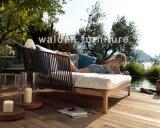 屋外の家具の庭の日曜日のLoungerのテラスのSunbedの屋外のホテルの寝台兼用の長椅子