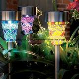 Solarlampe heißer der Verkaufs-Edelstahl-Solargarten-Lampen-LED für Garten-Dekoration