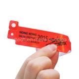 1개 시간 사용 13.56MHz는 연약한 PVC RFID 소맷동을 방수 처리한다