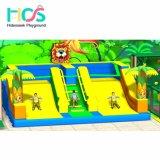 2018 Apparatuur van de Speelplaats van de Kinderen van Ce Standerd de Binnen met Trampoline
