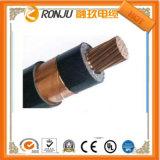 câble d'alimentation électrique blindé de bande en acier d'isolation du faisceau XLPE du conducteur 3X70mm2 trois d'Al de câble d'alimentation de 8.7/15kv système mv
