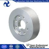 Puleggia di azionamento di alluminio del nastro trasportatore dell'attrezzo Mxl XL L attrezzo della rotella