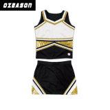 Mini uniforme en gros de Cheerleading d'enfant d'uniformes d'acclamation de taille