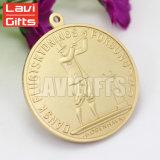 熱い販売の安いカスタム賞の記念品によって型抜きされる堅いエナメルの黄銅メダル