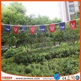 Duurzame Digitale Bunting van de Polyester van de Druk Goedkope Vlag