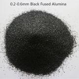 El 85% Al2O3 Black alúmina fundida/ polvo de óxido de aluminio pulido
